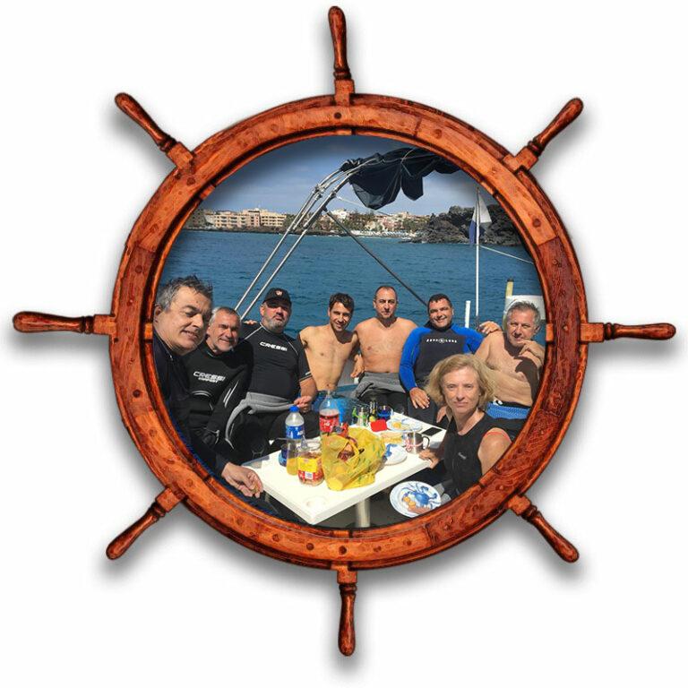 Reserva de barco yate para excursiones y actividades nauticas en Tenerfie Sur Las Galletas