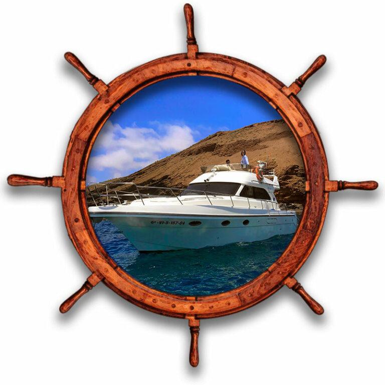 Cruceros vida a bordo para buceo y actividades náuticas en Tenerife Sur Las Galletas y La Gomera